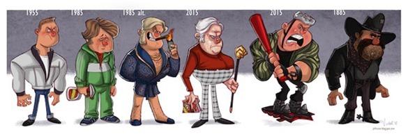 эволюция Биф Таннен