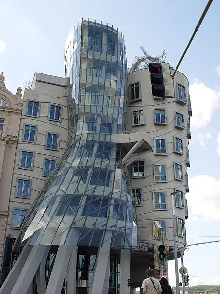 Прага - Танцующий дом
