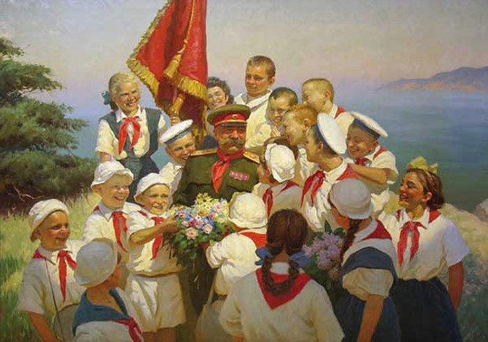 Волков Б.В. Каникулы в Крыму. 1952г.