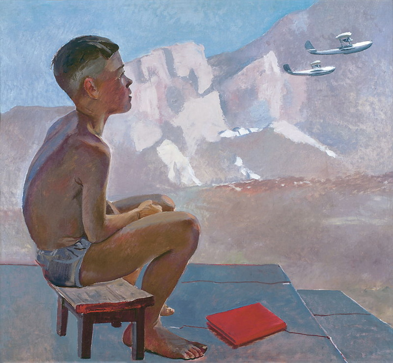Дейнека А. А. Пионер. 1934г.