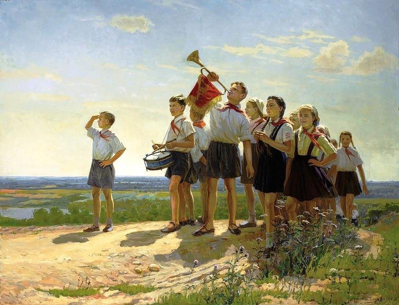 Беляев Н. Счастливые. 1949