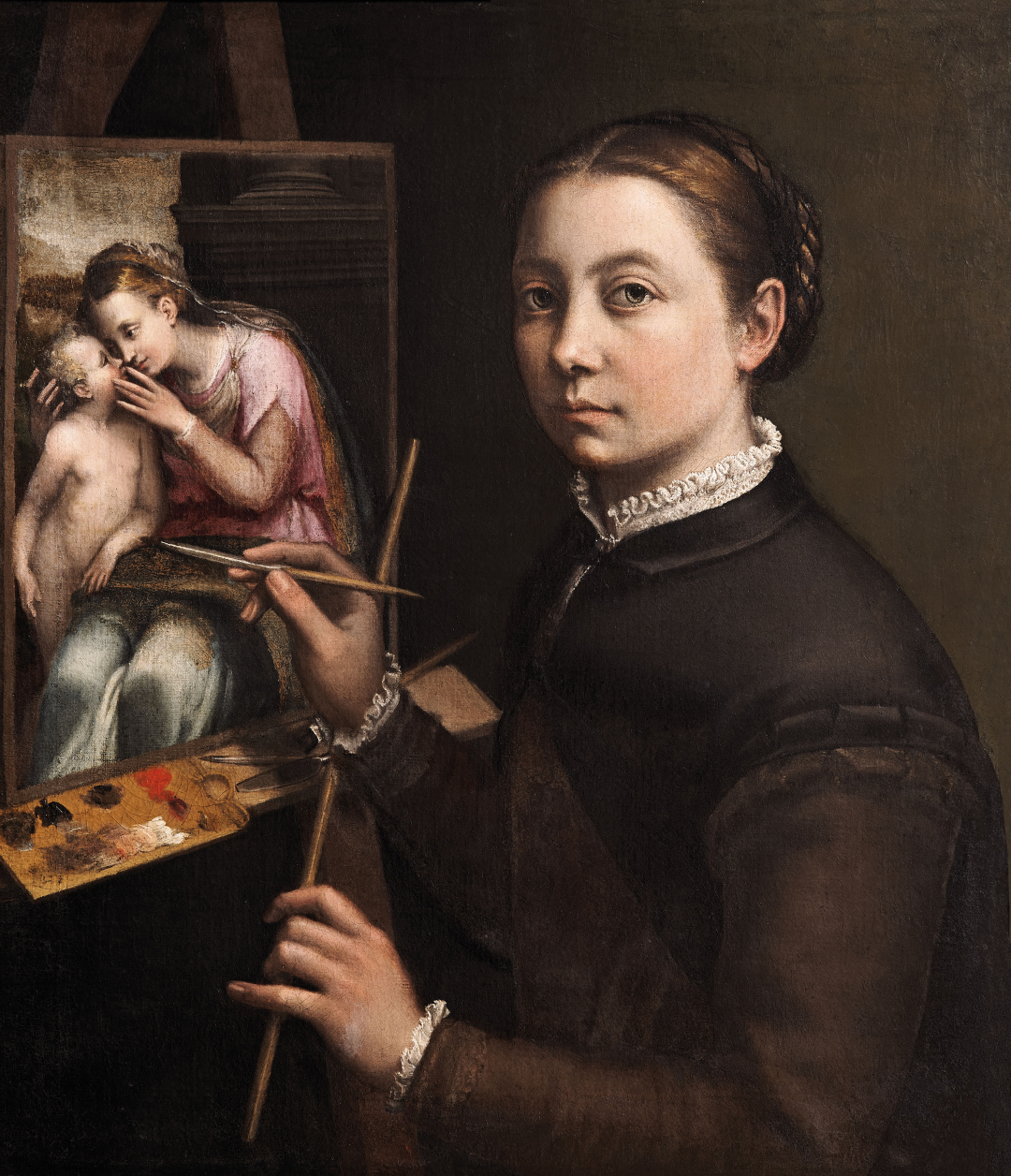 Sofonisba-Anguissola-Self-Portrait-at-the-Easel-Sofonisba-Anguissola-Oil-on-canvas-c.-1556−57-Poland-The-Castle-Museum-in-Łańcut-1080x1256.jpg