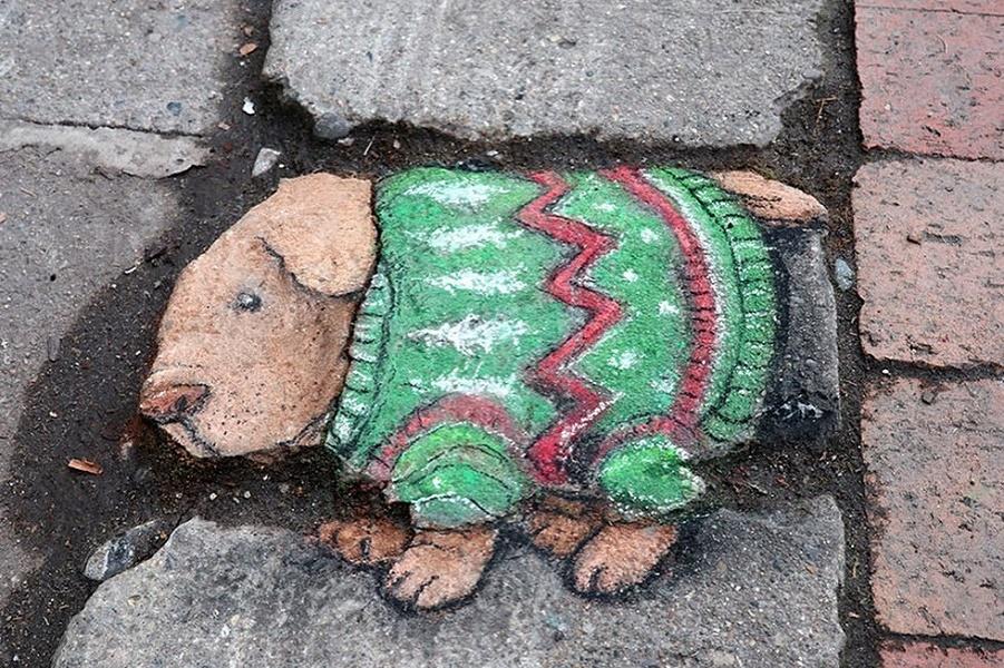 рисунки мелом уличного художника Дэвида Зинна (12).jpg