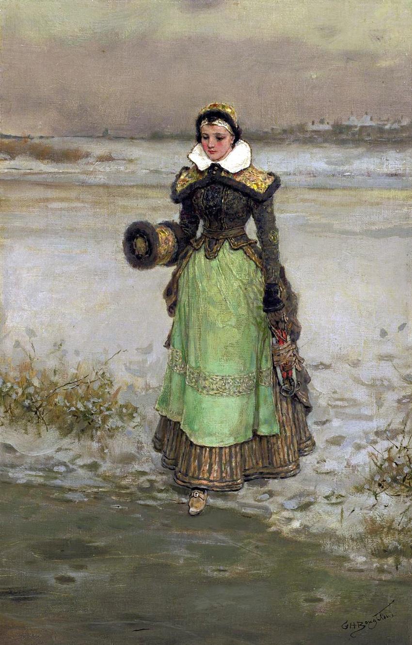 George Henry Boughton - Woman on Skates.jpg