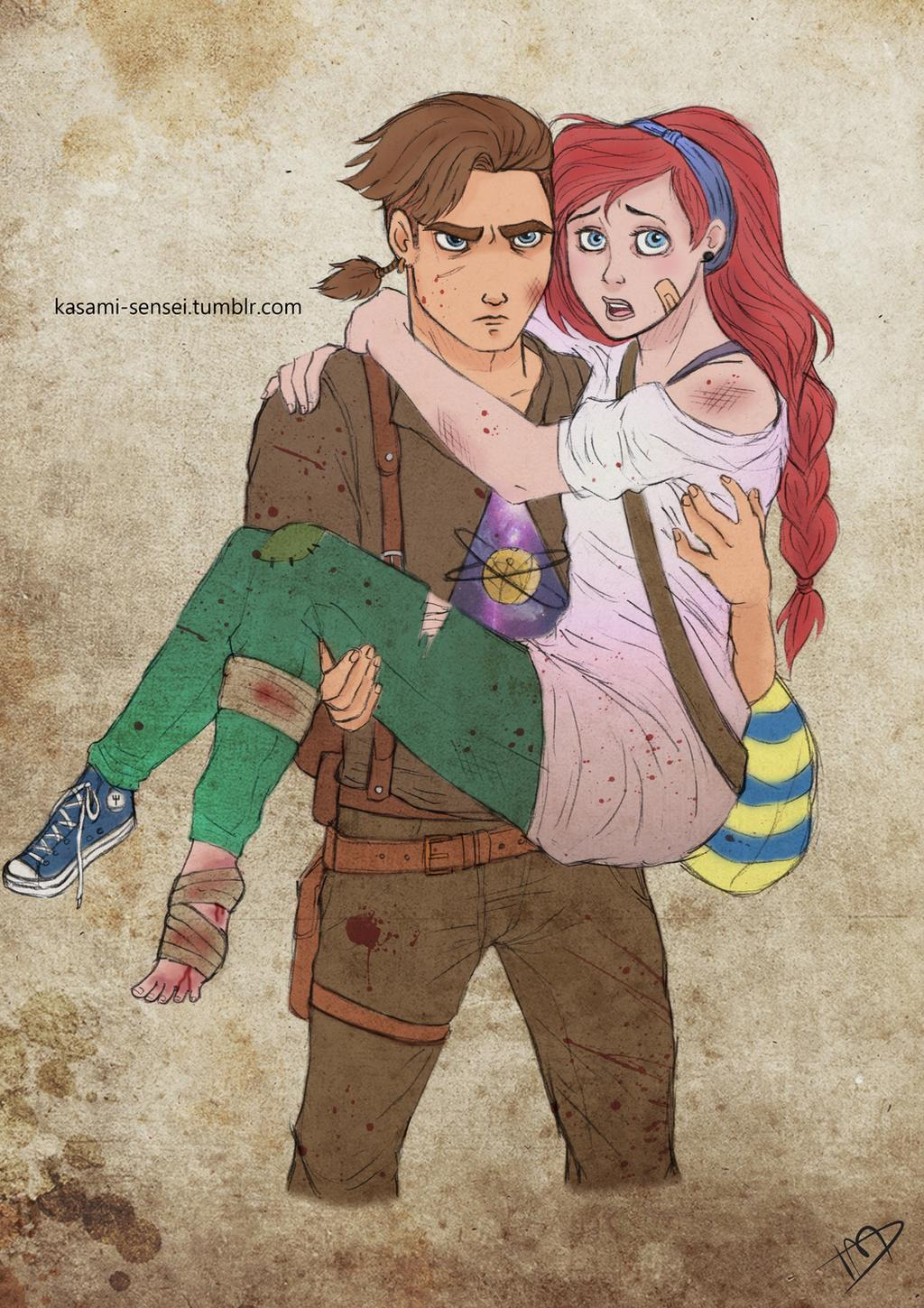the_walking_disney___jim_and_ariel_by_kasami_sensei_d7prjj2-fullview.jpg
