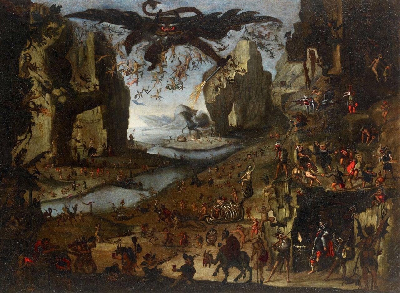 Якоб ван Своненбург, «Искушение святого Антония», 1617 год.jpg