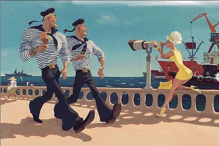 Вальдемар фон Козак Иллюстрации (7).JPG