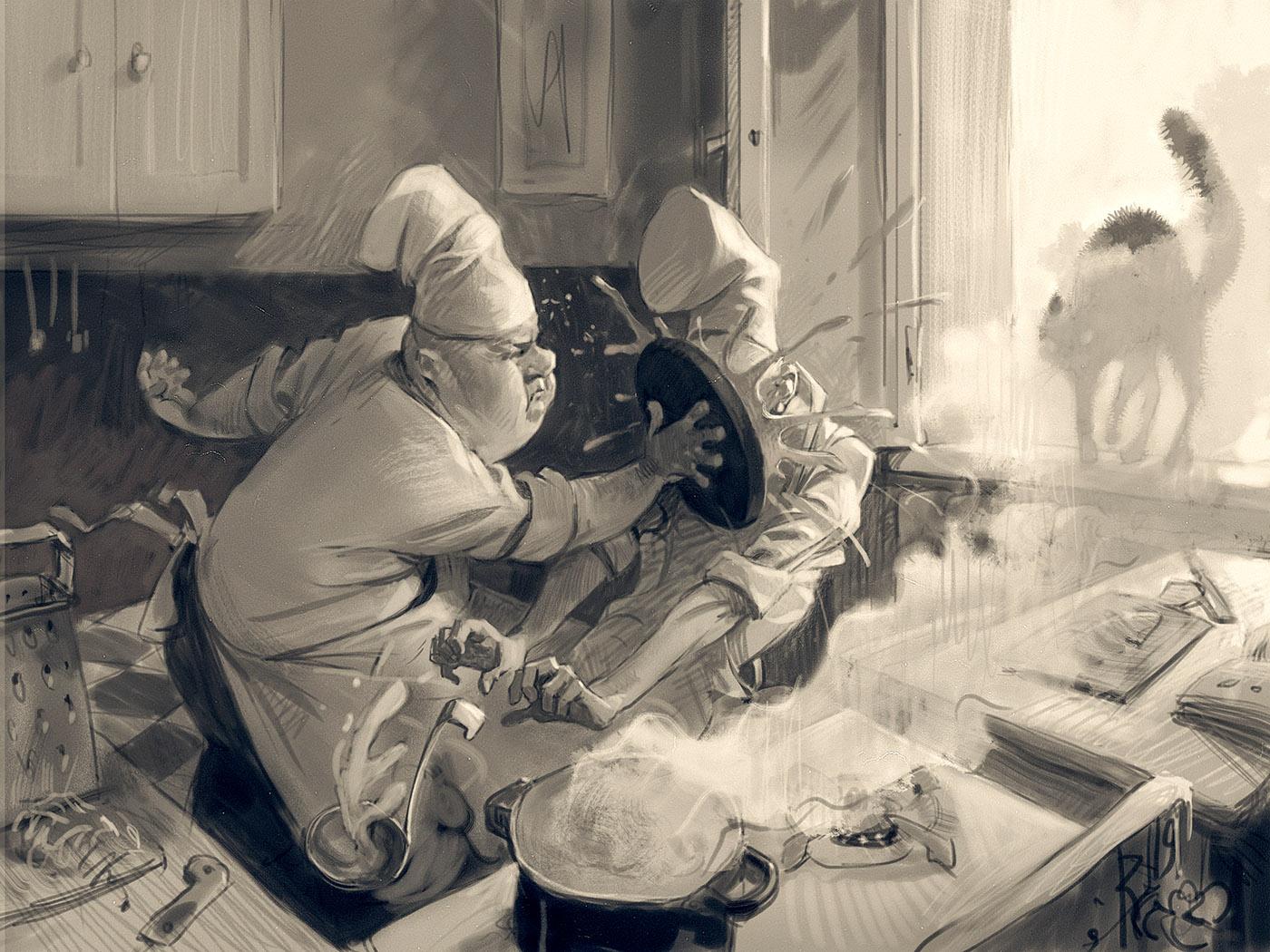 Вальдемар фон Козак Иллюстрации (12).JPG
