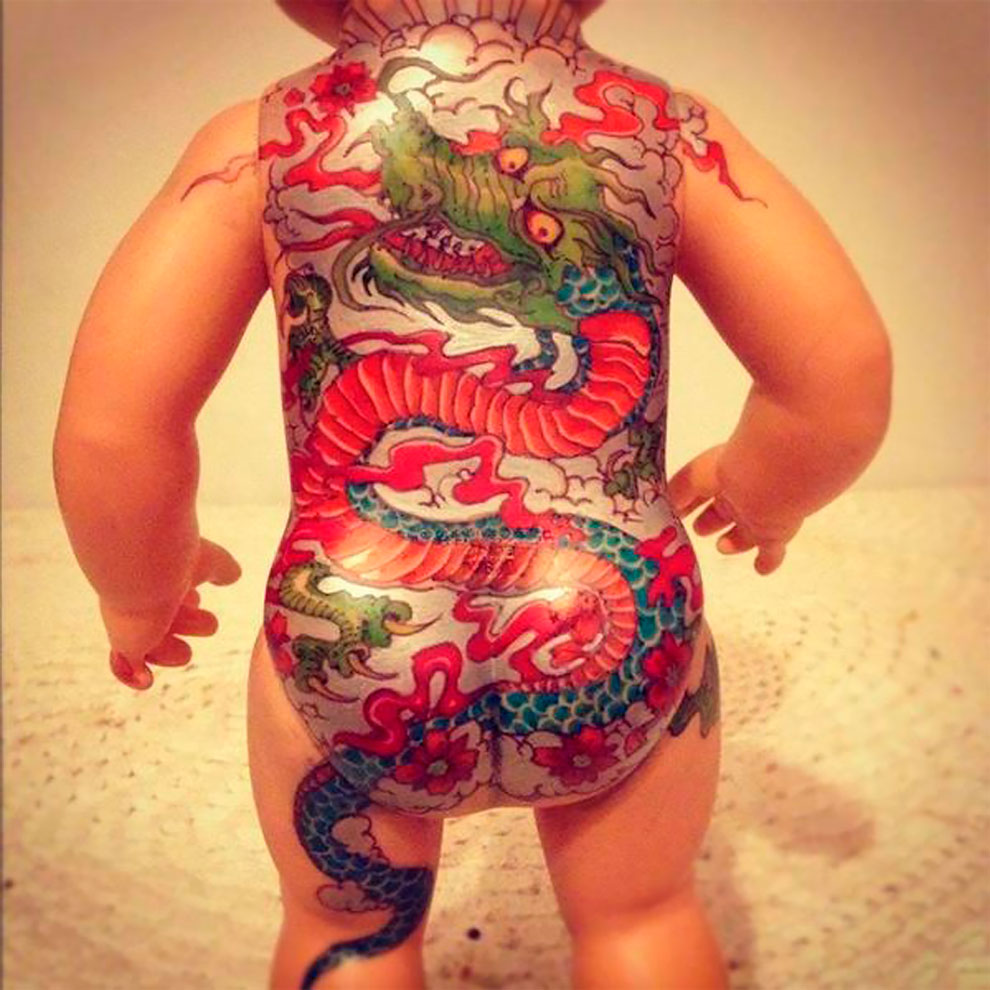Винтажные татуированные куклы от Kartess (1).jpg