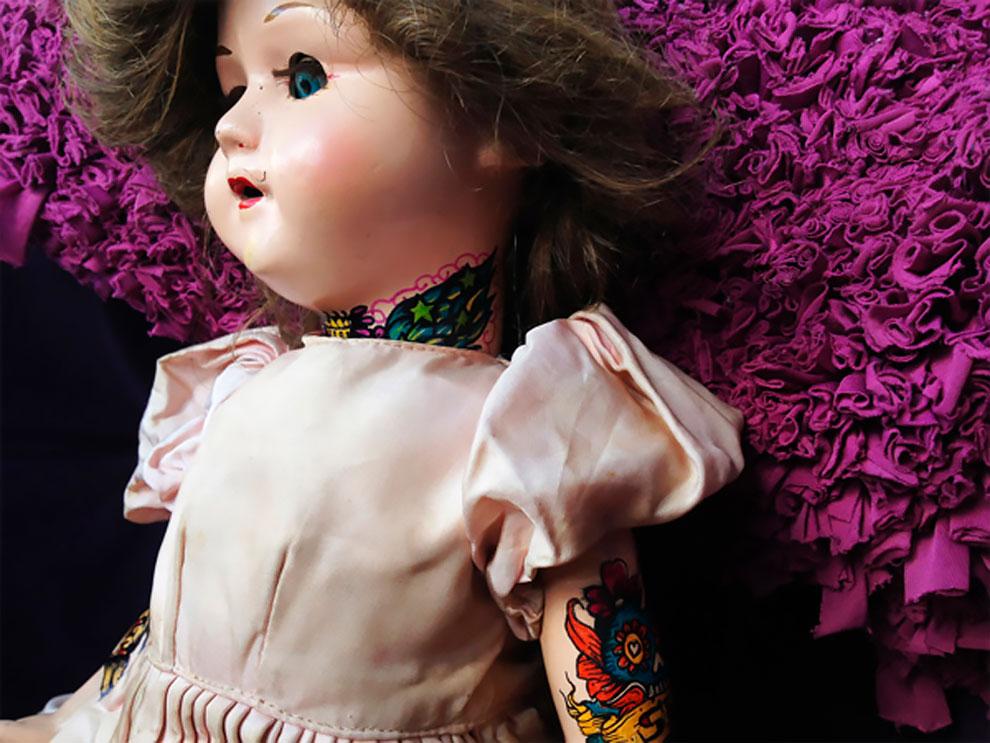 Винтажные татуированные куклы от Kartess (2).jpg