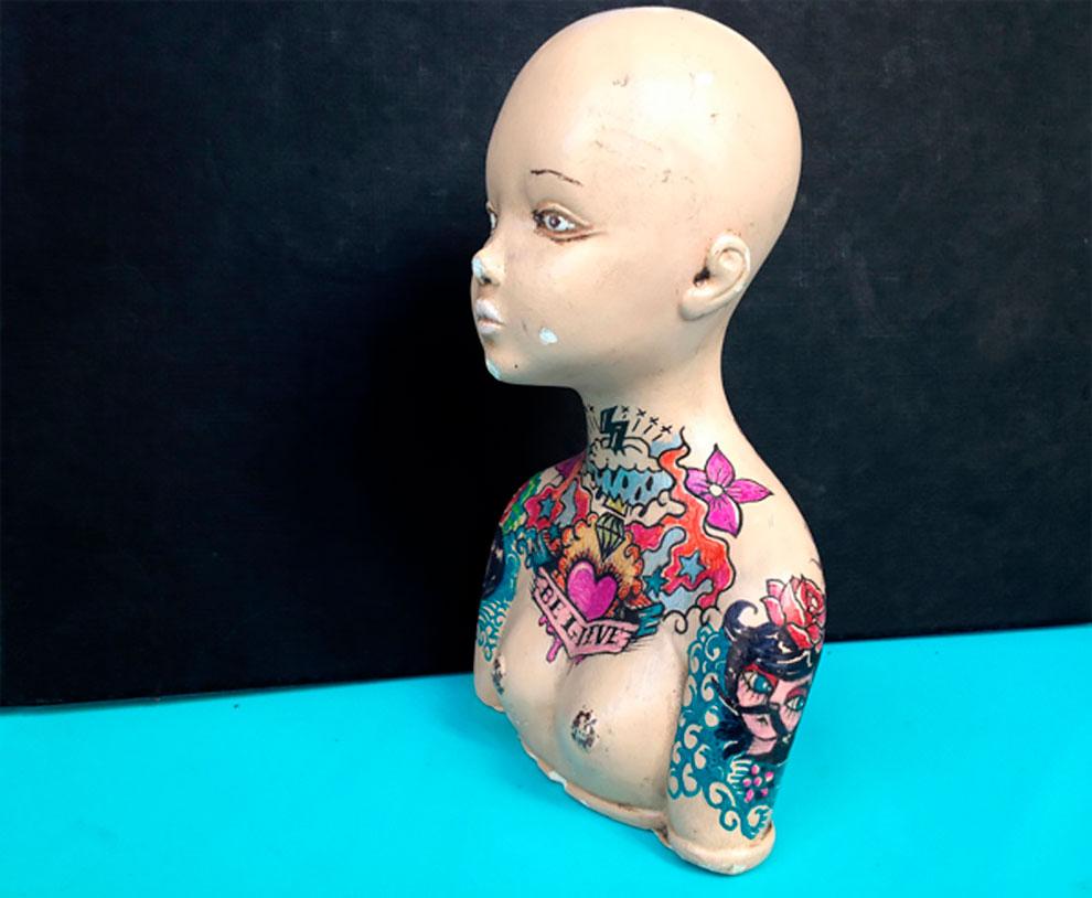 Винтажные татуированные куклы от Kartess (13).jpg