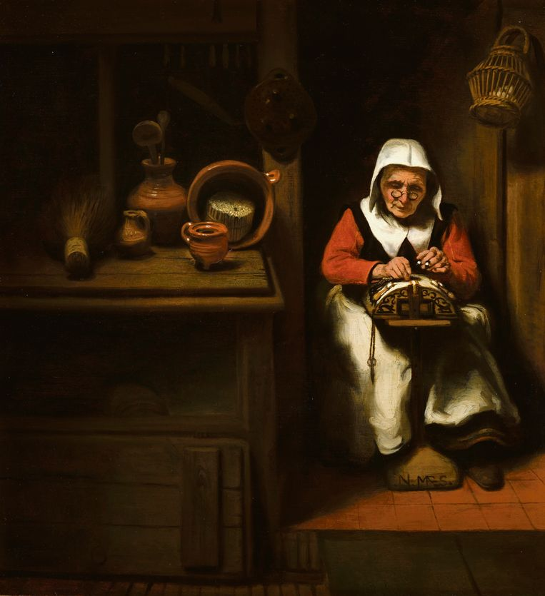 Николас Мас, Нидерланды, 1634−1693  (4).jpg