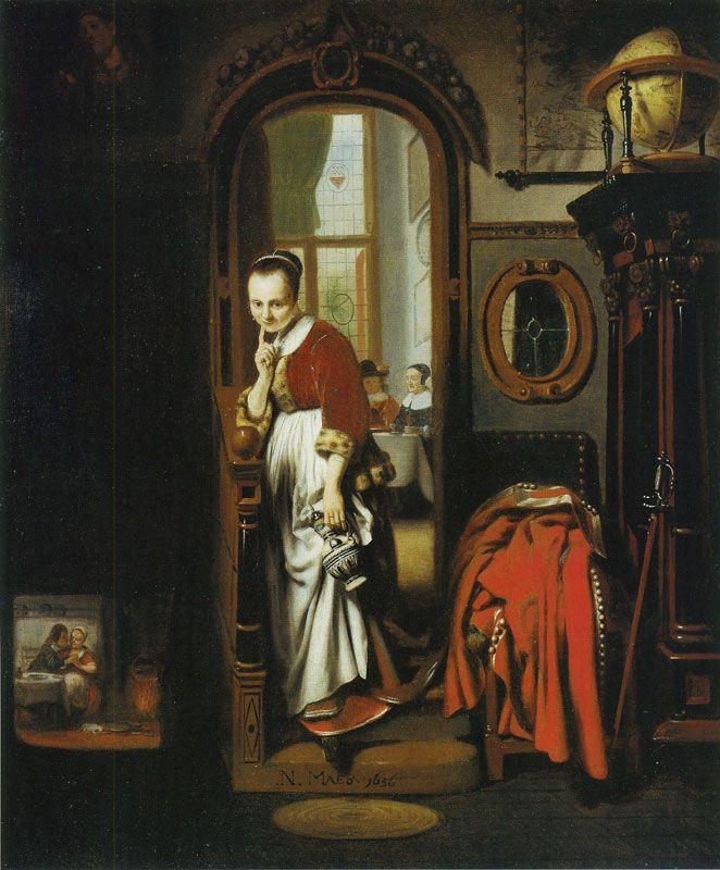 Николас Мас, Нидерланды, 1634−1693  (8).jpg