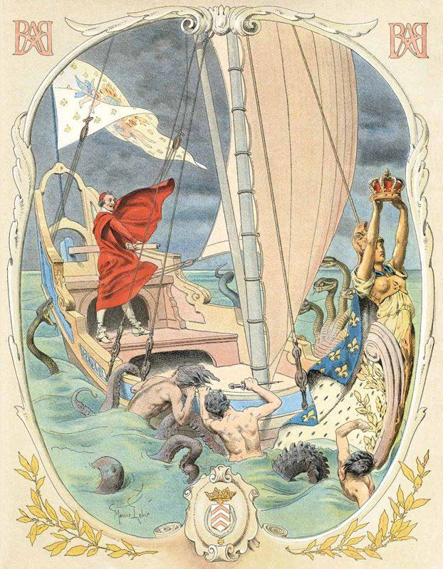 Книжные иллюстрации Мориса Лелуара.  (11).jpg
