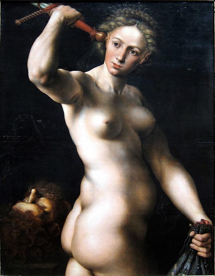 Ян ван Хемессен. Смерть Олоферна. 1540-е..jpg