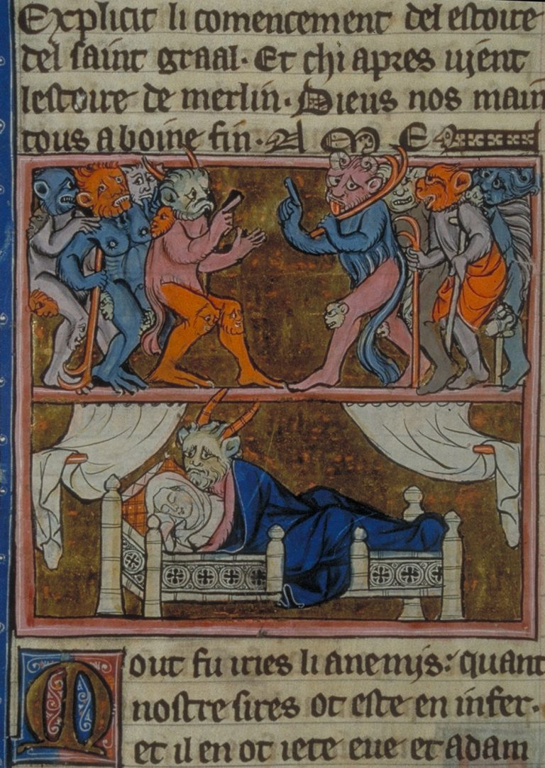 THE-CONCEPTION-OF-MERLIN-2-Robert-de-Boron-LEstoire-de-Merlin-Northern-France-ca.-1280-1290.-Paris-BNF-Fr.-95-fol.-113v-768x1083.jpg