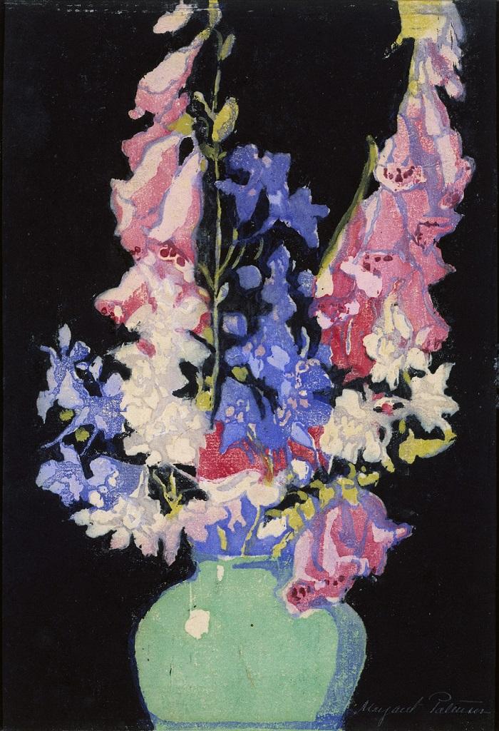 Маргарет Джордан Паттерсон, Садовые Цветы, ок. 1920,.jpg