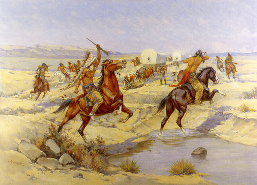 Herman_Wendelborg_Hansen_-_Attack_On_The_Wagon_Train_12x18_uqnzcn__63865.1486480236.jpg