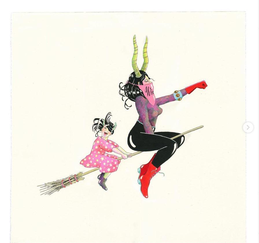 Яркие и красочные рисунки Лебуржуа (11).JPG