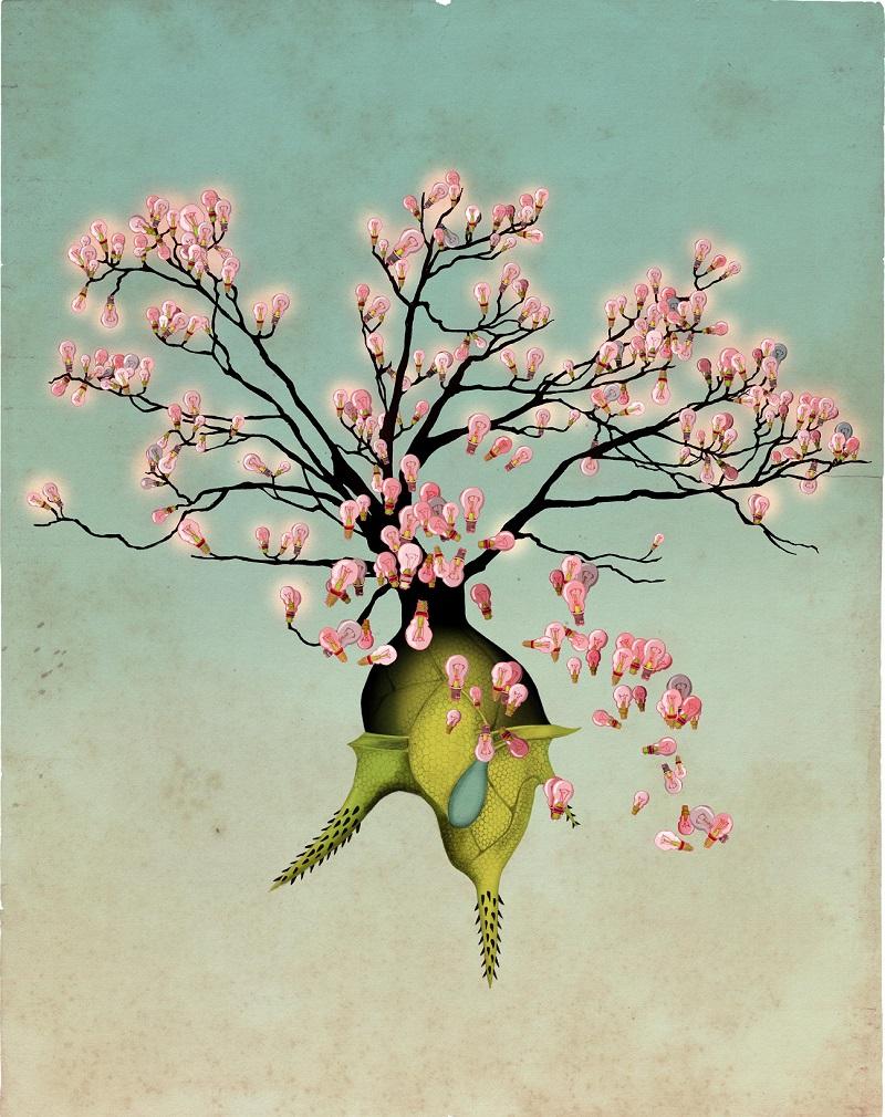 Яркие и красочные рисунки Лебуржуа (21).JPG