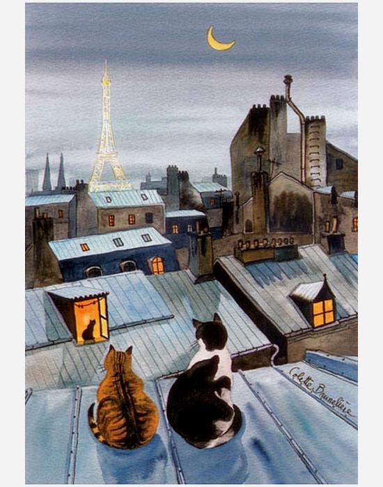 Париж и Кошки