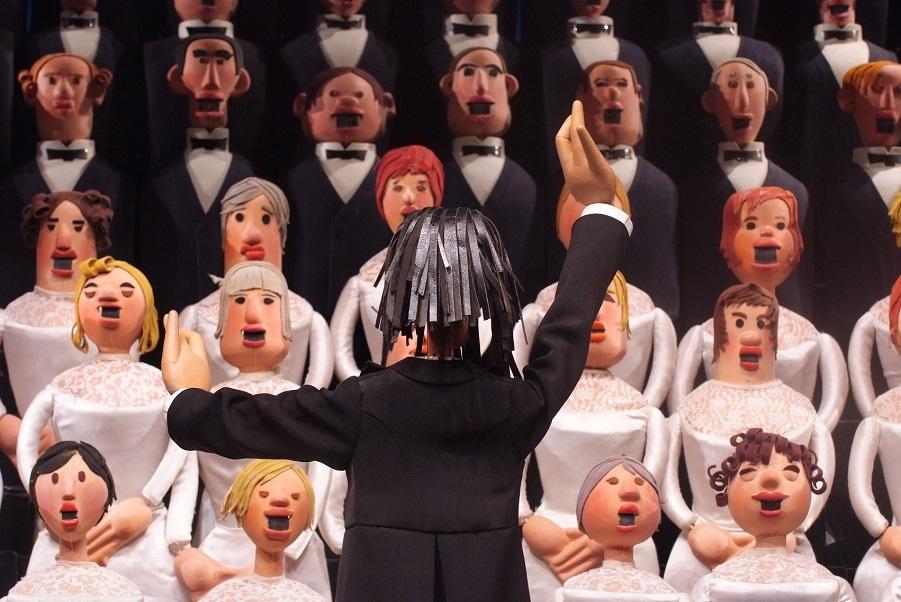 Кукловод Сергей Образцов со своими экзотическими куклами (3).jpg