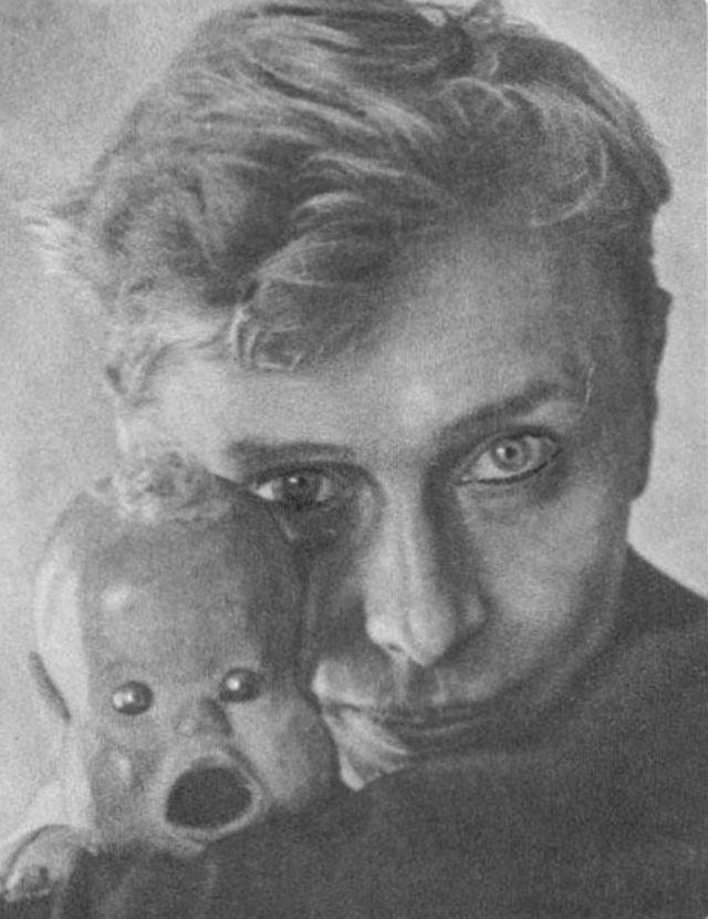 Кукловод Сергей Образцов со своими экзотическими куклами (6).jpg