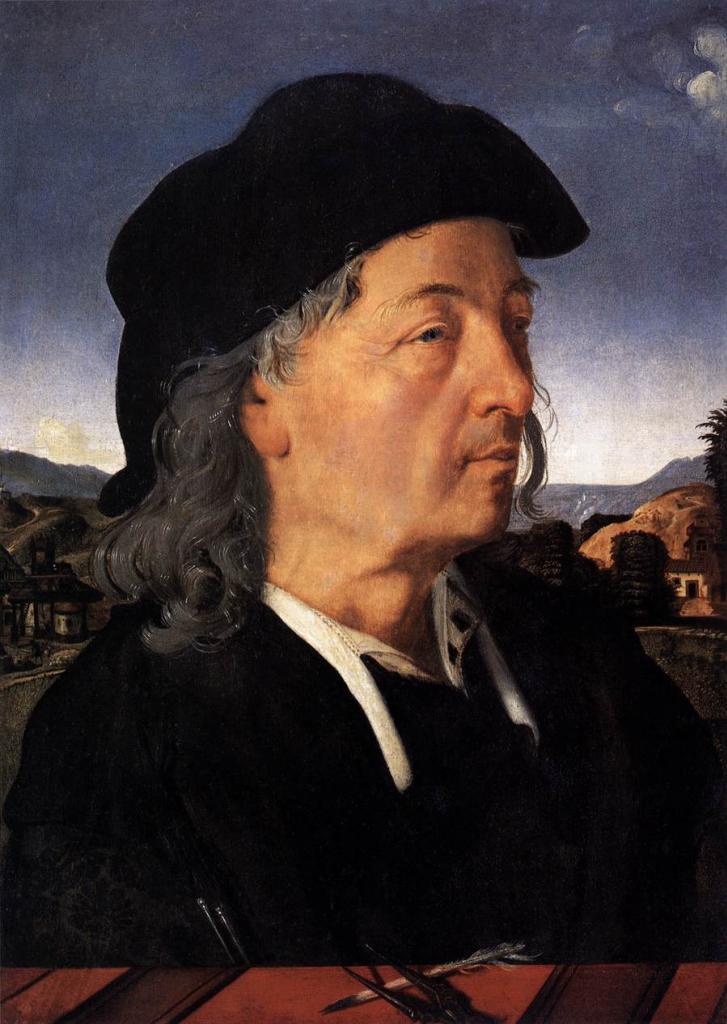 Портрет Джулиано да Сангалло. Пьеро ди Козимо.