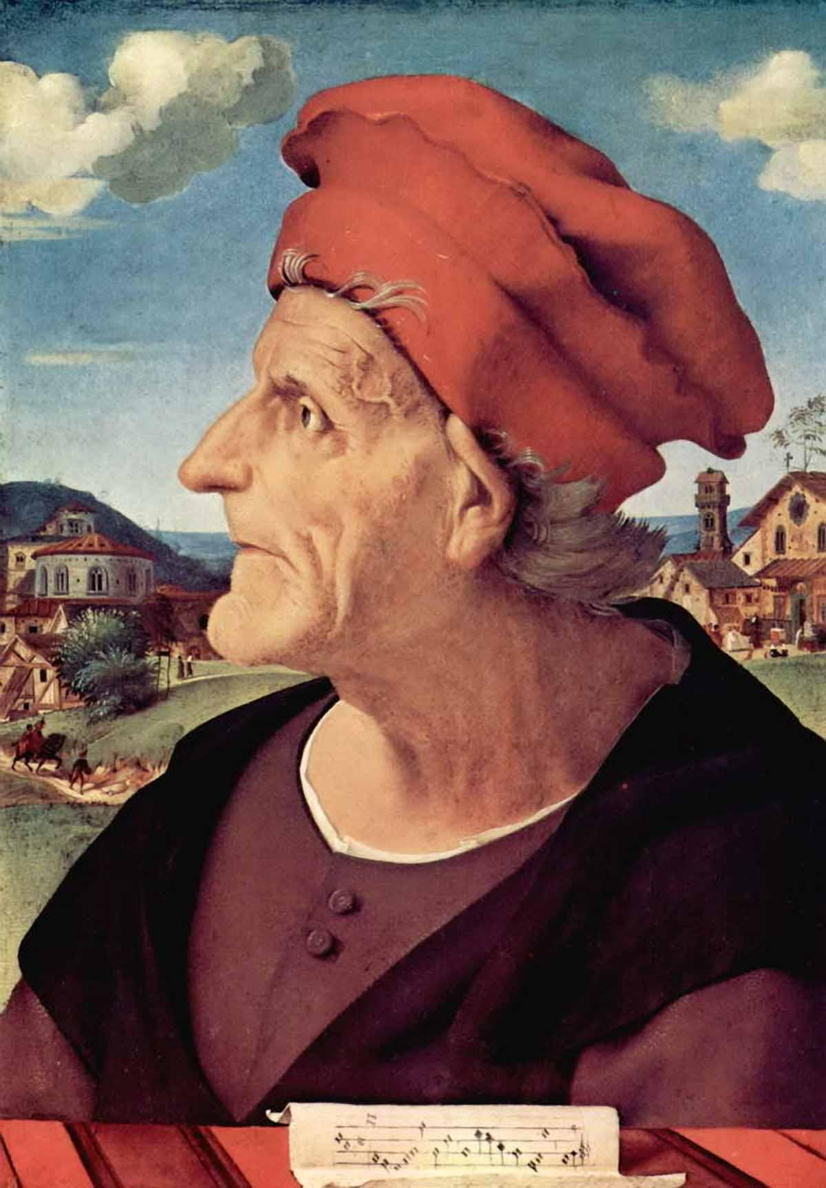 Портрет Франческо Джамберти