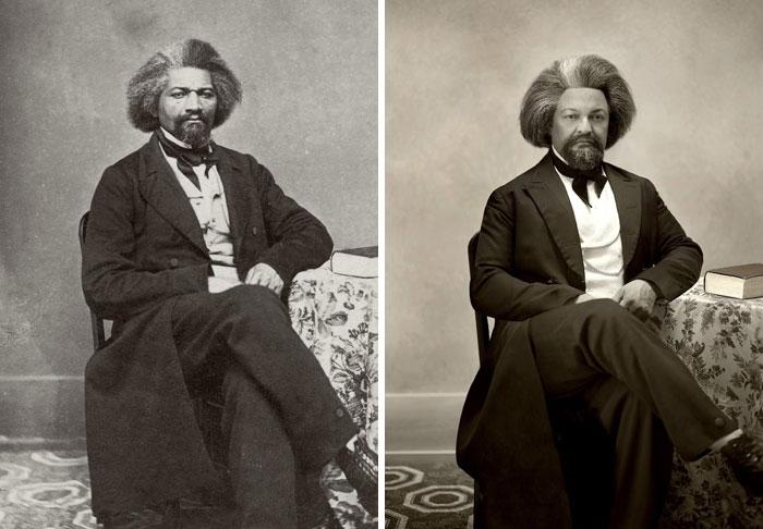 Фредерик Дуглас (слева), 1863 г. и Рувим Л. Эндрюс (справа).jpg