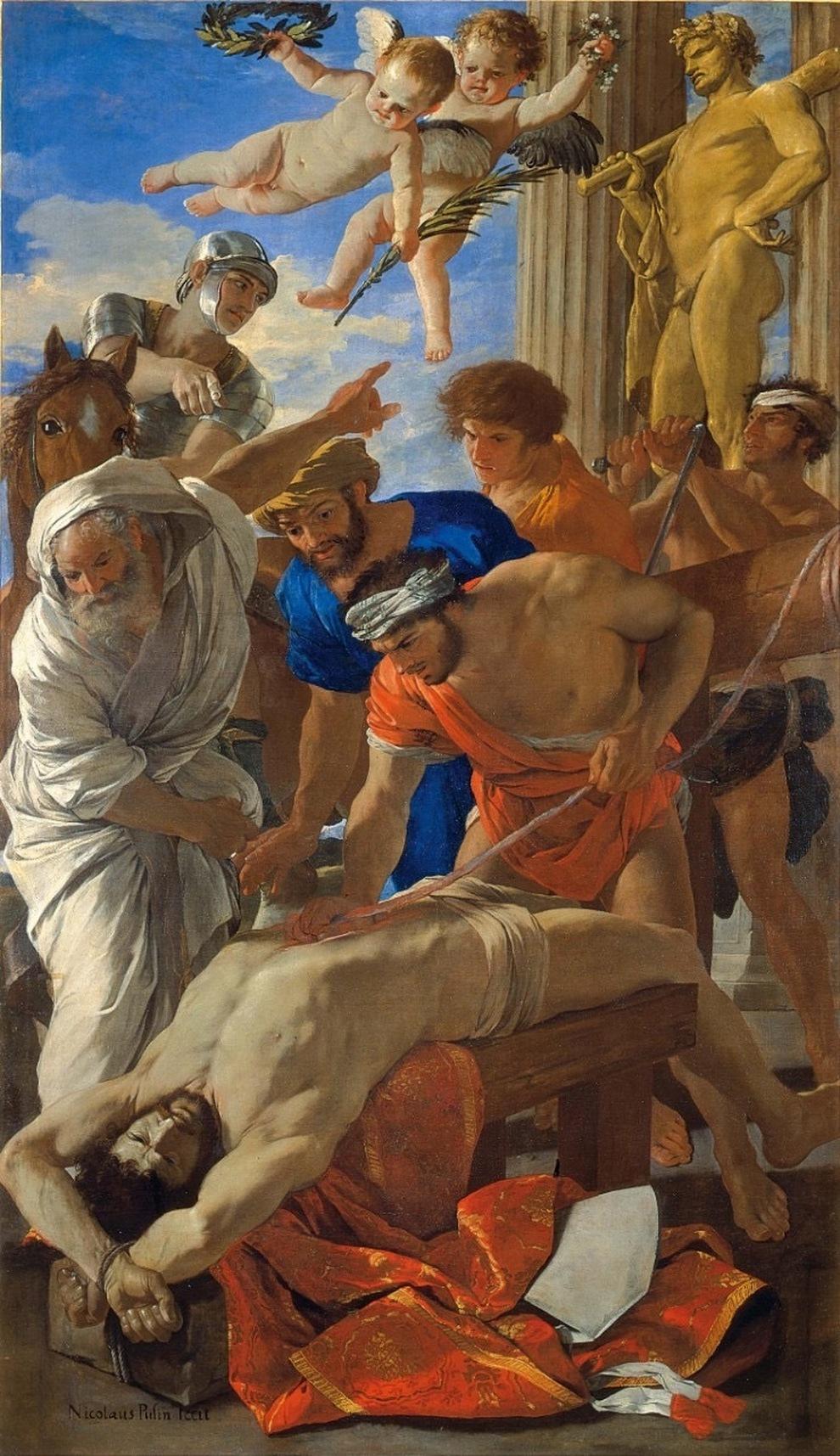 Мученичество святого Эразма Николая Пуссена , 1628-29, Ватиканские музеи, Ватикан.jpg
