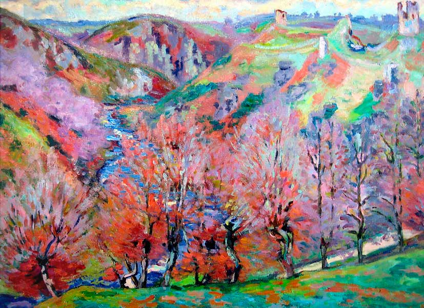 2-jean-baptiste-armand-guillaumin-landscape-with-ruins