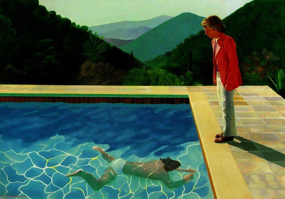Давняя тема - купальщики в искусстве DavidHockney-PortraitofanArtistPoolwithTwoFigures.jpg