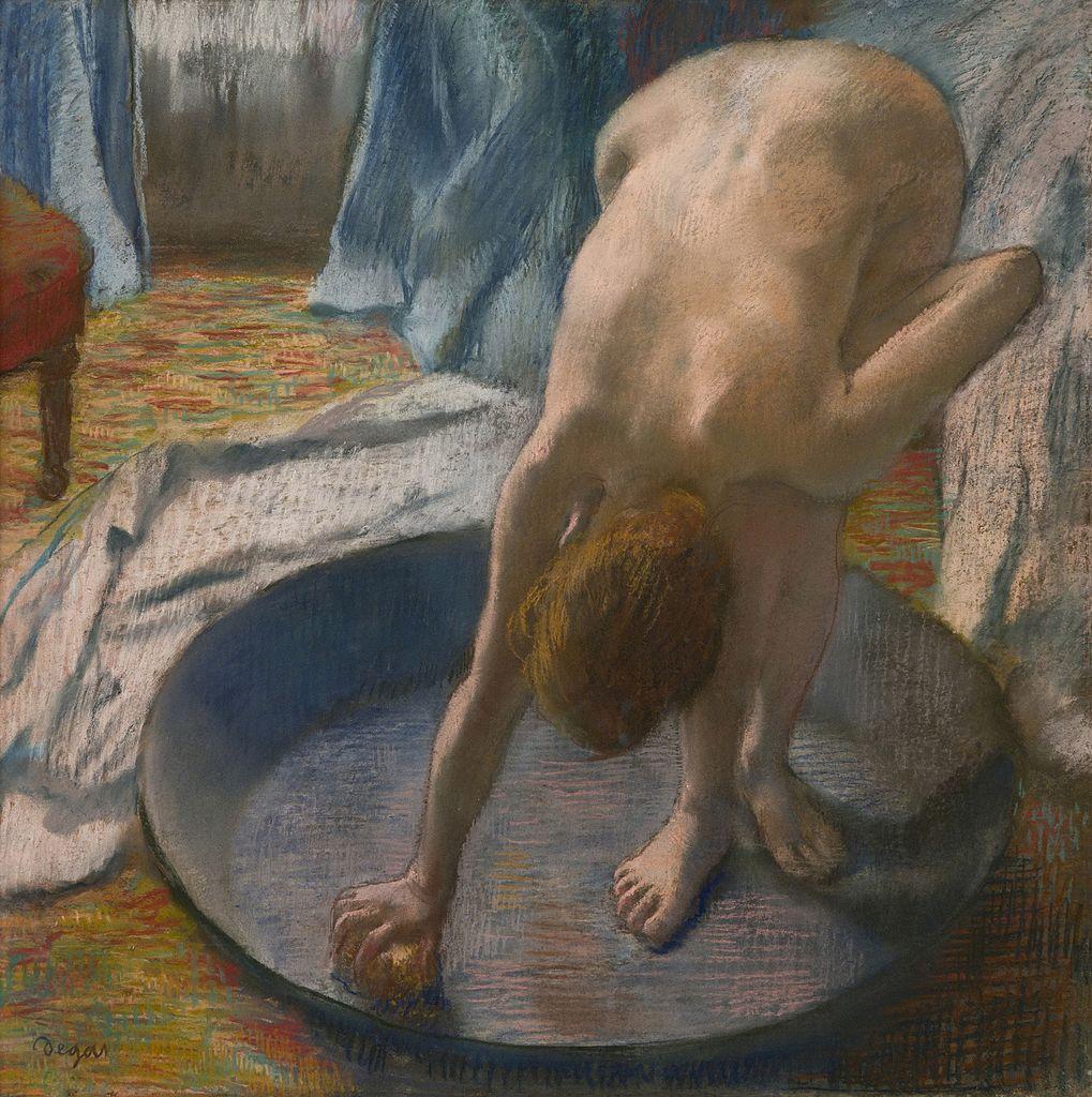 Давняя тема - купальщики в искусстве Edgar_Degas,_1886_-_The_Tub.jpg