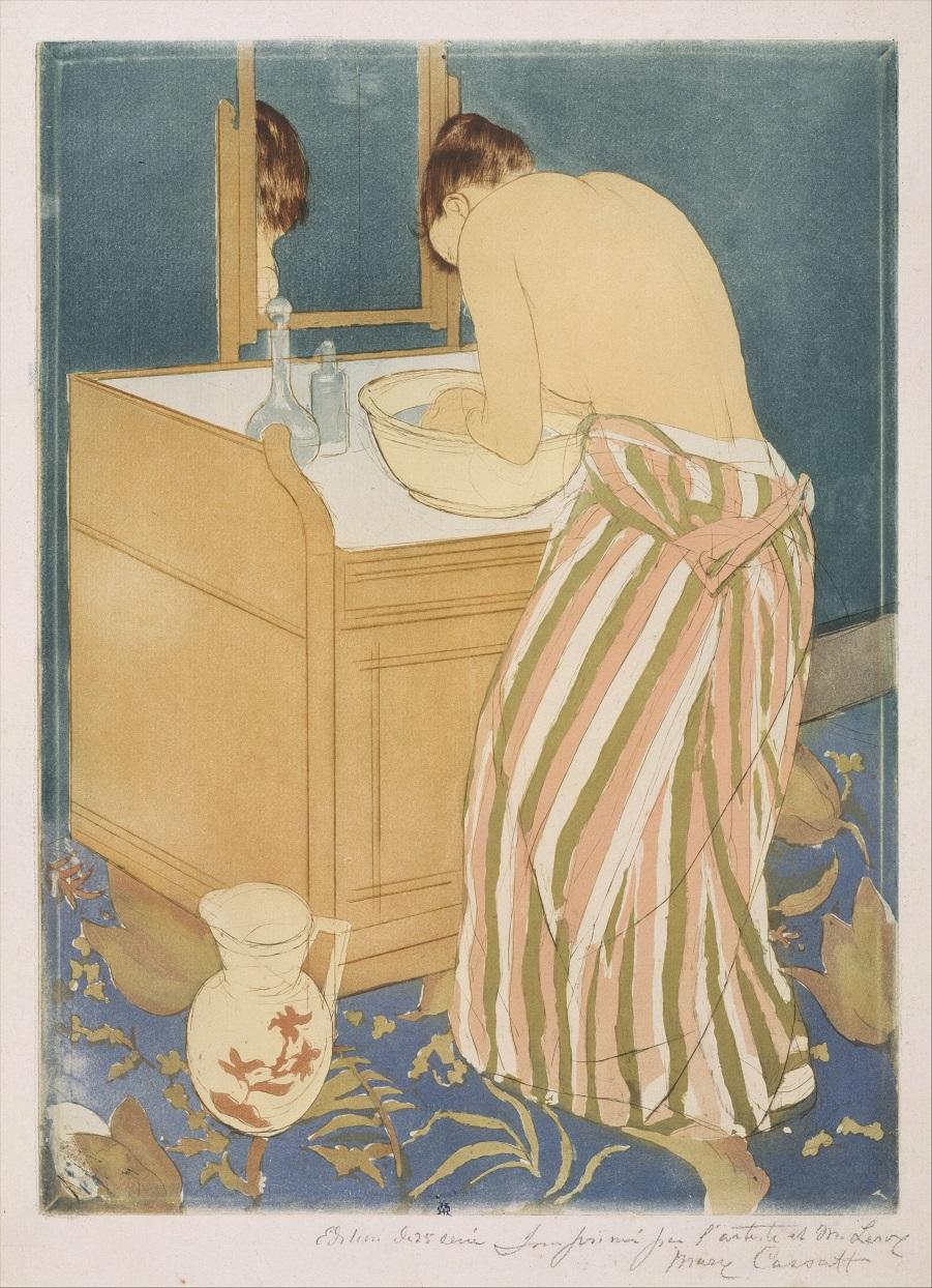 Давняя тема - купальщики в искусстве Woman_Bathing_(La_Toilette)_MET_DT246511.jpg