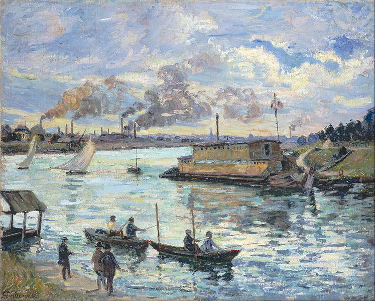 Armand_Guillaumin_-_River_Scene_-_Google_Art_Project