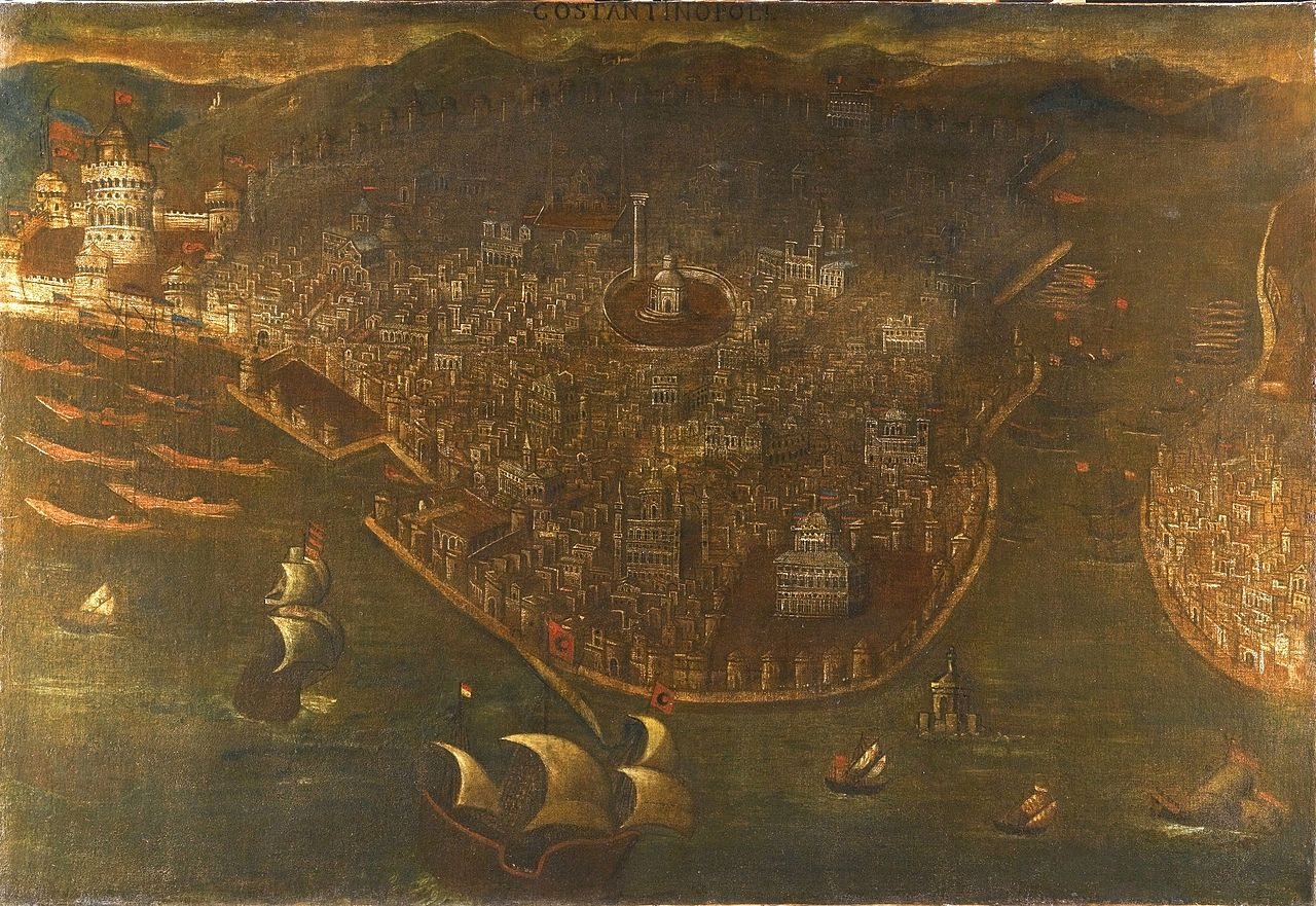 1280px-THE_FALL_OF_CONSTANTINOPLE,_ITALY,_PROBABLY_VENICE,_LATE_15THEARLY_16TH_CENTURY._Private_coll..jpg