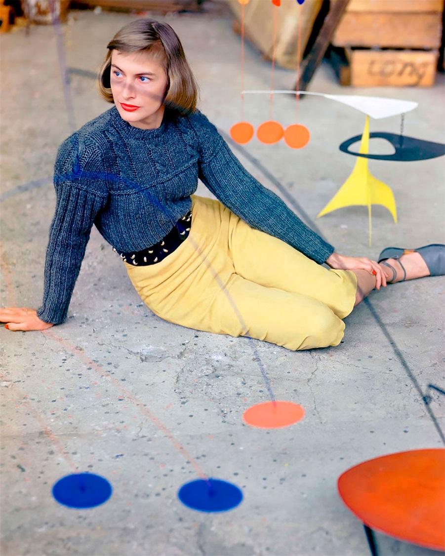 В потрясающих цветах фото Женевьевы Нейлор, 1945-1959.JPG