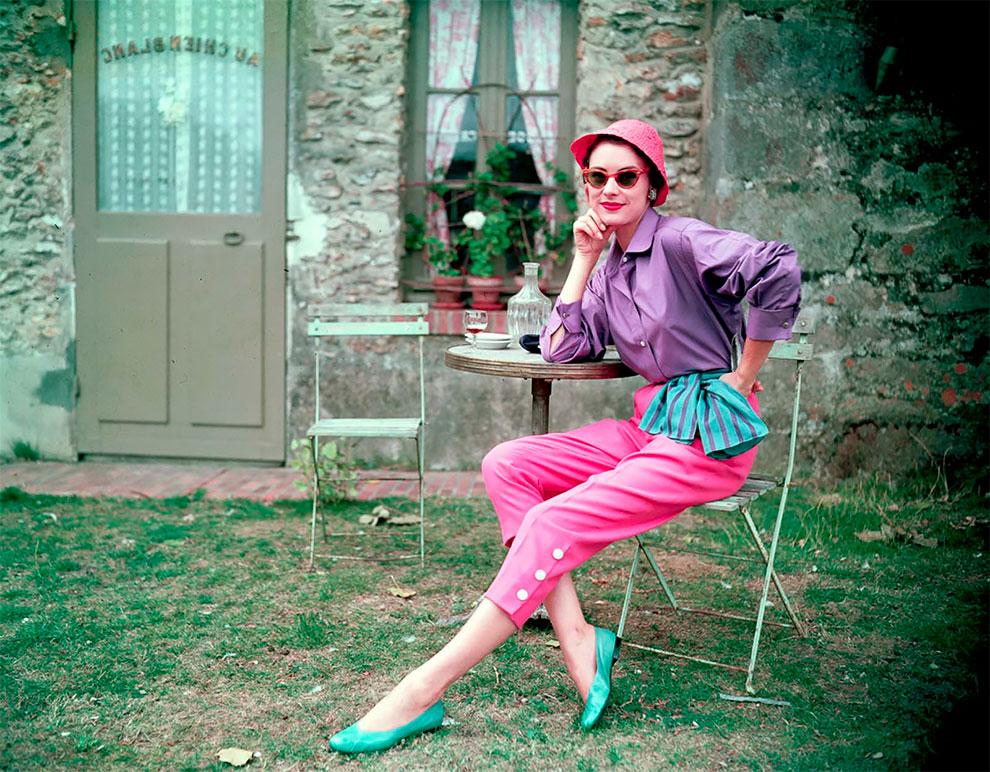 В потрясающих цветах фото Женевьевы Нейлор, 1945-1959 (4).jpg