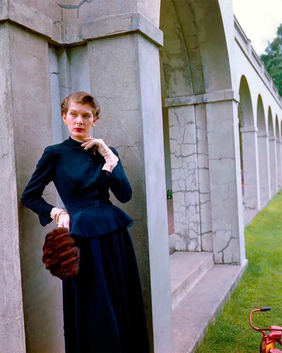 В потрясающих цветах фото Женевьевы Нейлор, 1945-1959 (6).jpg
