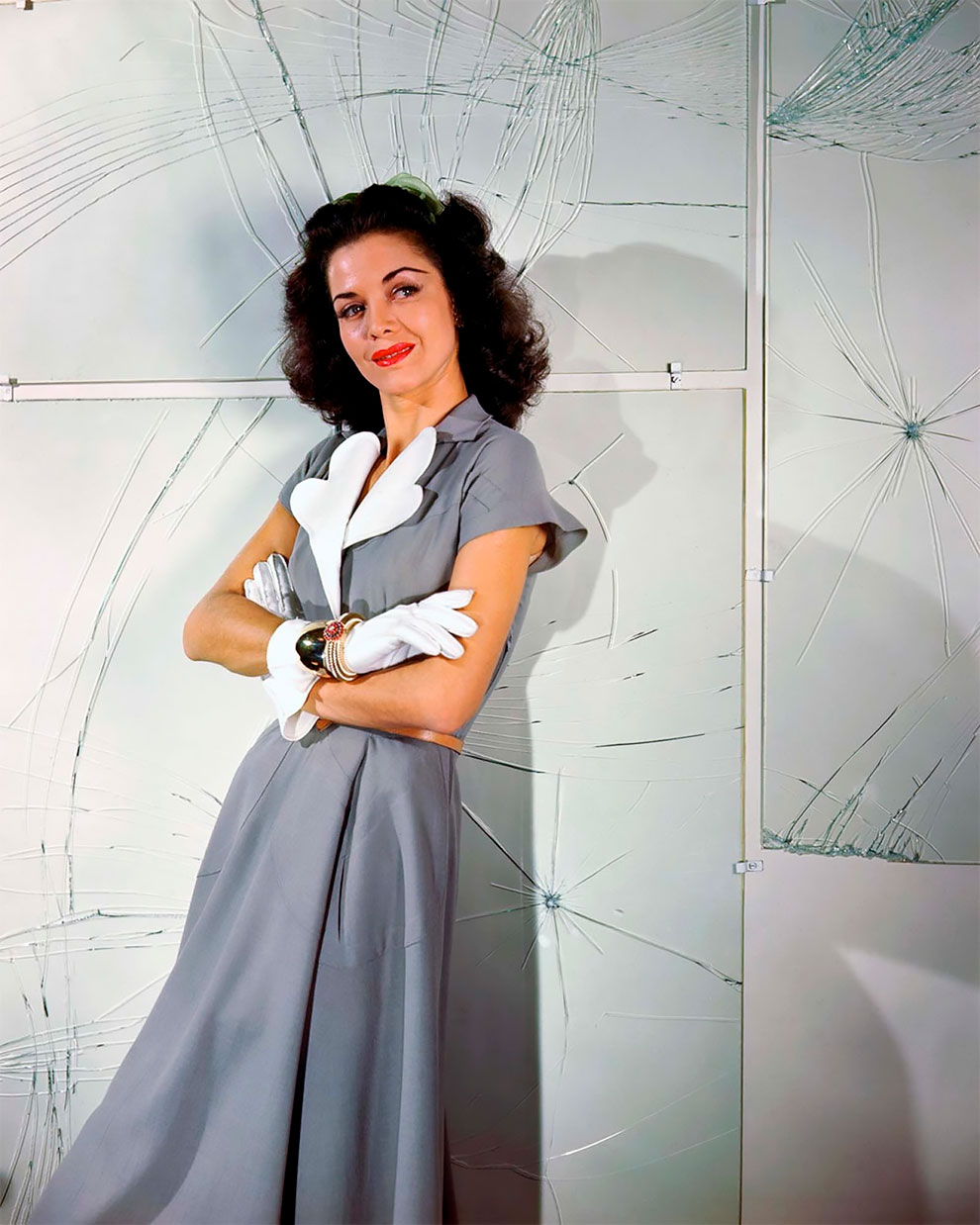 В потрясающих цветах фото Женевьевы Нейлор, 1945-1959 (8).jpg