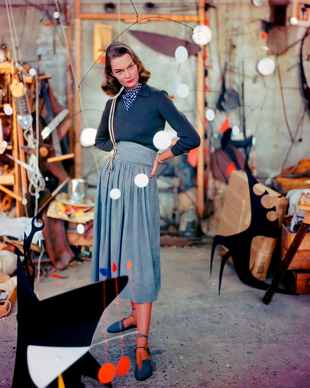 В потрясающих цветах фото Женевьевы Нейлор, 1945-1959 (9).jpg