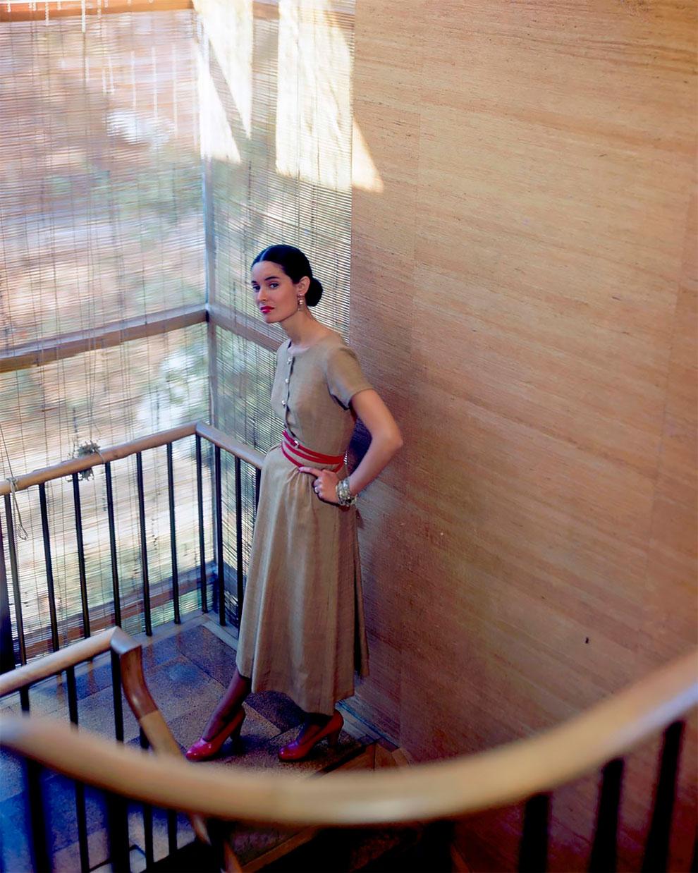В потрясающих цветах фото Женевьевы Нейлор, 1945-1959 (13).jpg