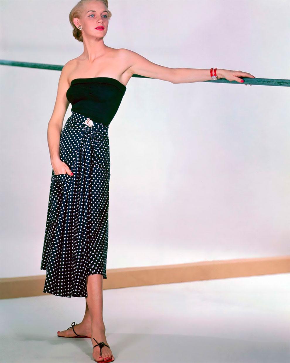 В потрясающих цветах фото Женевьевы Нейлор, 1945-1959 (15).jpg