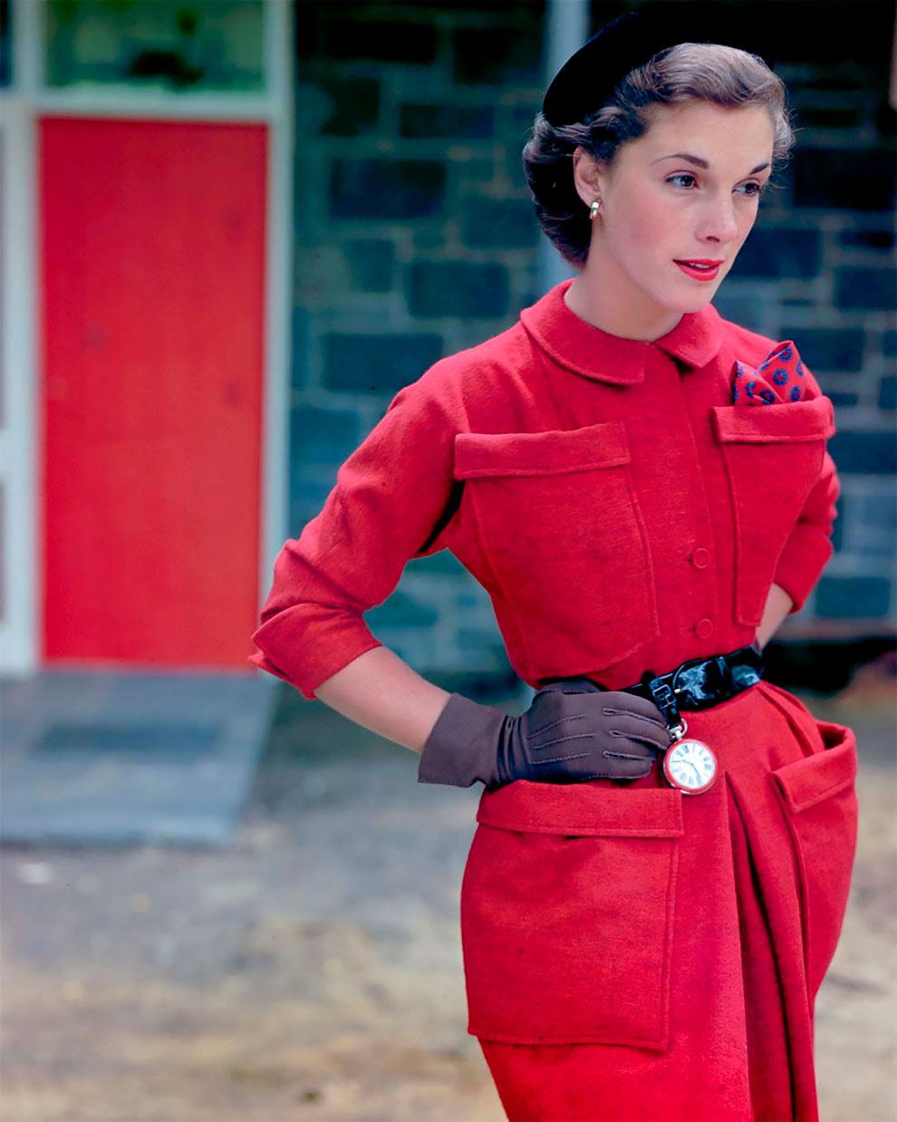 В потрясающих цветах фото Женевьевы Нейлор, 1945-1959 (16).jpg