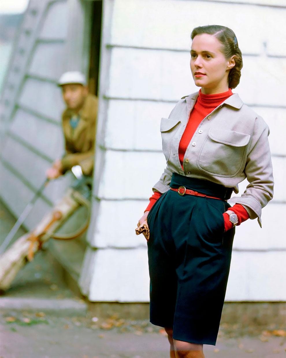 В потрясающих цветах фото Женевьевы Нейлор, 1945-1959 (17).jpg