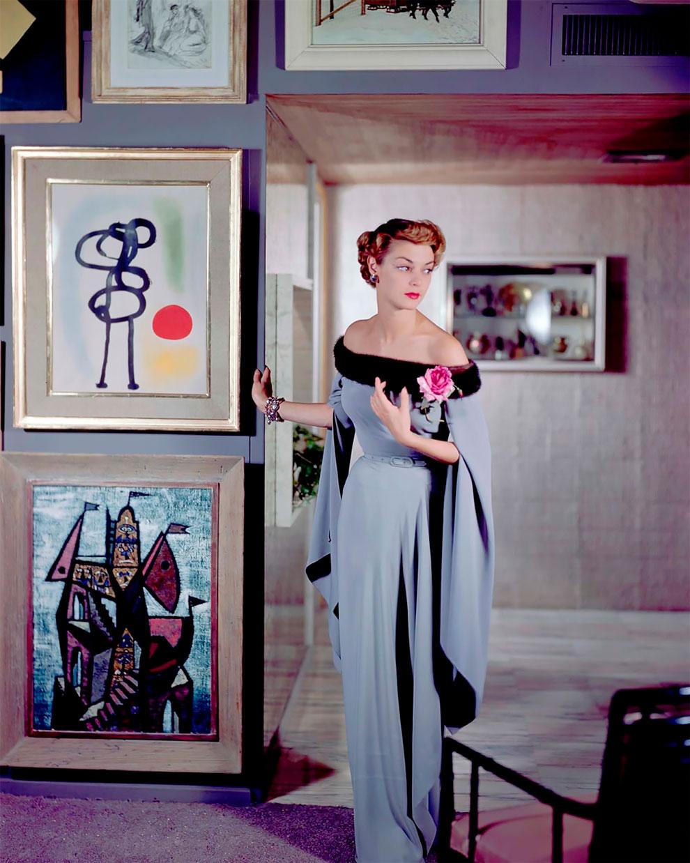 В потрясающих цветах фото Женевьевы Нейлор, 1945-1959 (19).jpg