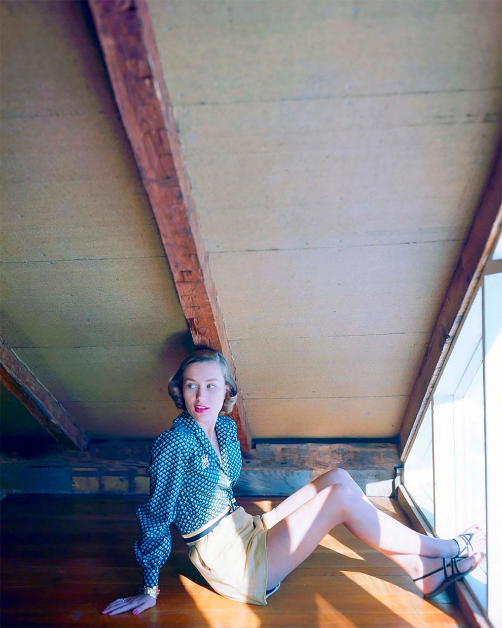В потрясающих цветах фото Женевьевы Нейлор, 1945-1959 (26).JPG