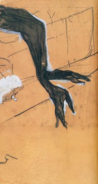 Анри де Тулуз-Лотрек , Черные перчатки Иветты Гильбер  (16).jpg
