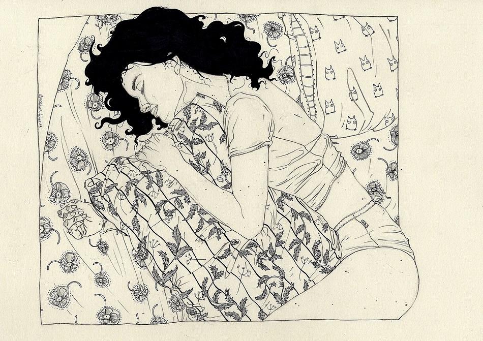 Лирические иллюстрации Кете Батчер (11).jpg
